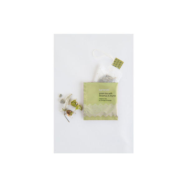 Karteraki τσάι πράσινο φακελάκι εσωτερικά