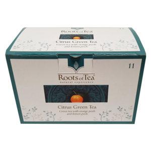 Arthemia τσάι Citrus Green Tea κουτί με 20 φακελάκια
