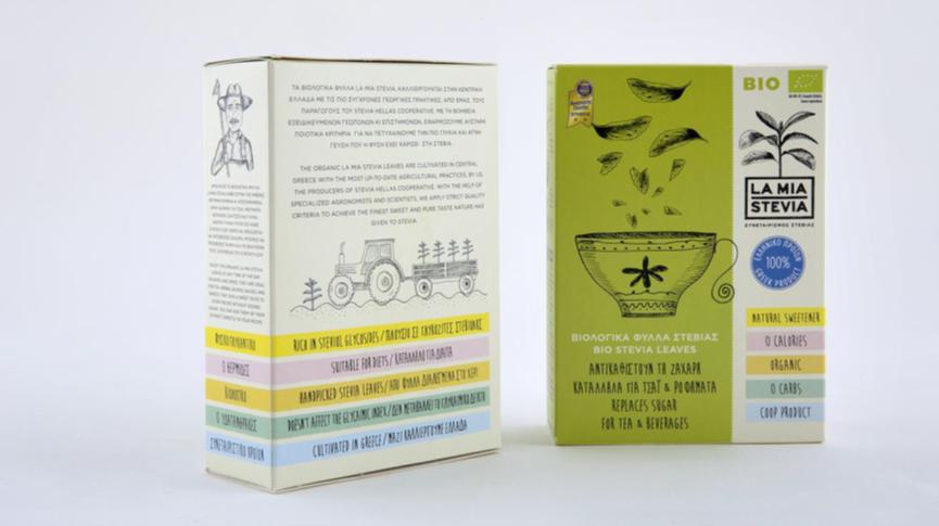 Stevia La Mia - φύλλα στέβιας