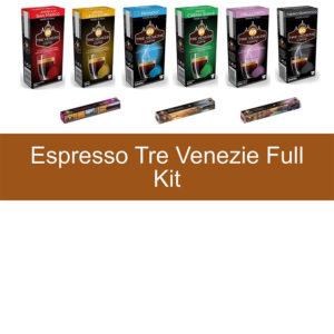 Tre Venezie Full Kit Nespresso capsules