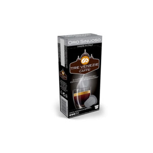 Tre Venezie Oro Sinuoso συμβατές κάψουλες Nespresso 100% arabica