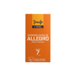 Dimello Allegro συμβατές κάψουλες nespresso