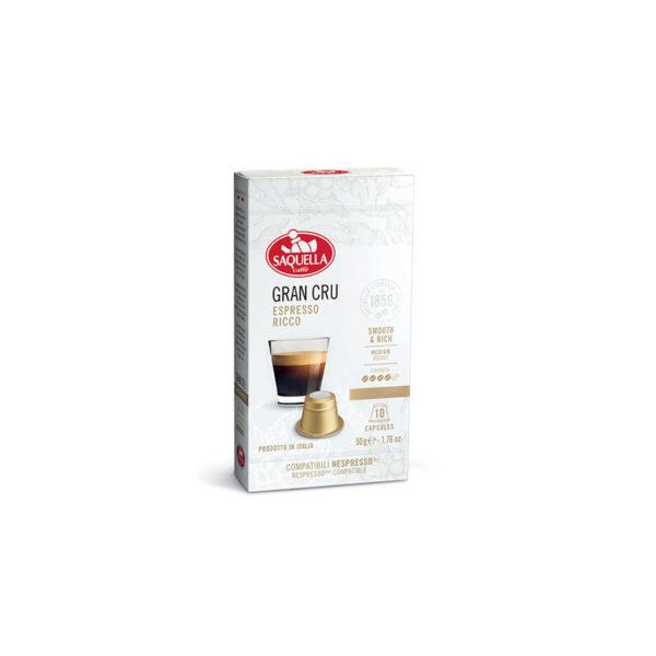 Saquella Gran Cru 100% Arabica nespresso κάψουλες