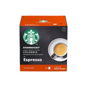 Starbucks Espresso Colombia συμβατές κάψουλες καφές από Κολομβία