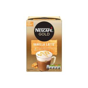 Nescafe Στιγμιαίος Cappuccino Vanilla Latte 8 τεμάχια νέα συνταγή