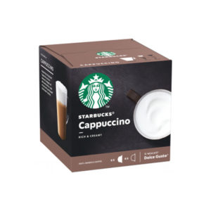 Starbucks Cappuccino συμβατές κάψουλες πλάγια κουτί dolce gusto