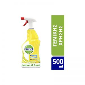Lemon & Lime Spray 500ml dettol σπρέι