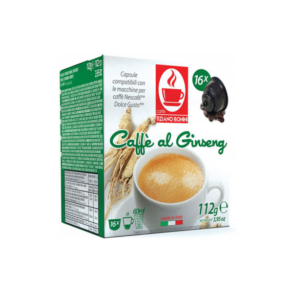 Ginseng συμβατές Dolce Gusto* - 16 τεμ κουτί