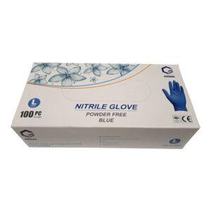 Γάντια Νιτριλίου μπλε Large