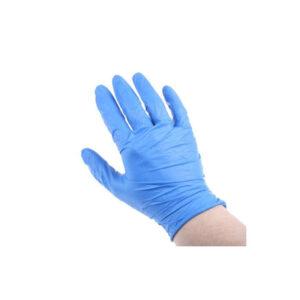 Γάντια Νιτριλίου μπλε Large hand