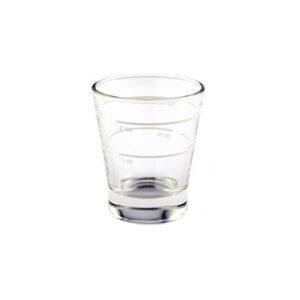 Ποτήρι δοσομετρικό γυάλινο 90ml σε 1-2 oz