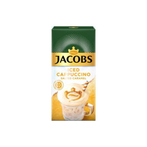 Jacobs Στιγμιαίος Iced Cappuccino Salted Caramel 8 φακελάκια