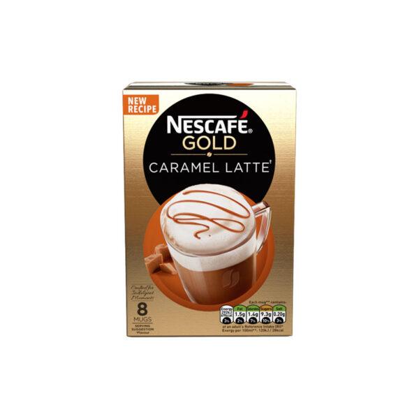 Nescafe Στιγμιαίος Cappuccino Caramel Latte καπουτσίνο καραμέλα