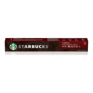 Starbucks Espresso Sumatra nespresso κάψουλες
