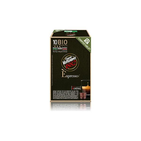 Vergnano espresso Arabica BIO Compostable