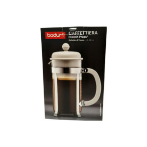 Bodum Caffettiera Off White - 1lt κουτί