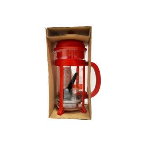 Bodum JAVA Caffettiera Red - 1lt συσκευασία κουτί