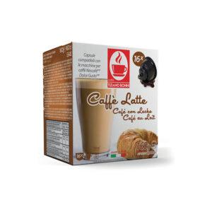 Tiziano Bonini Caffe Latte κάψουλες dolce gusto 16 τεμάχια