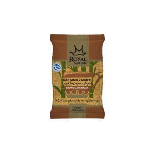 Ζάχαρη Καστανή ROYAL Σακουλάκι 500g
