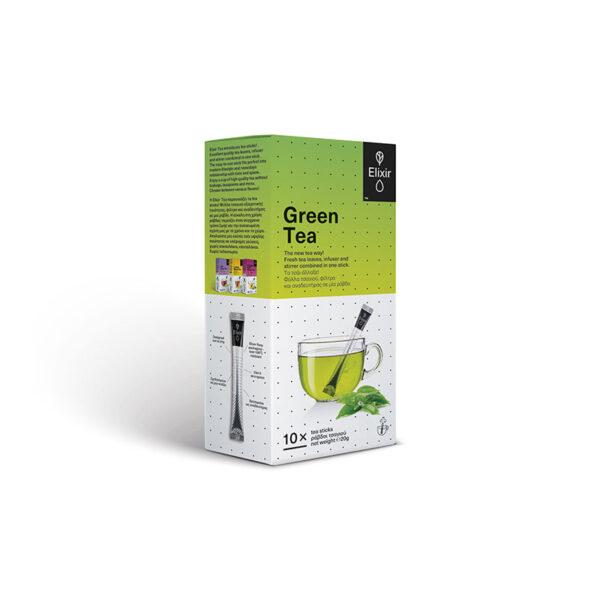 ELIXIR Green Tea ράβδοι τσαγιού 10 τεμάχια