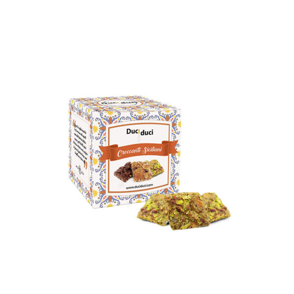 Μπισκότα επιδόρπιo με φιστίκι Duci Duci 80g ατομικά φυστίκι Αιγίνης