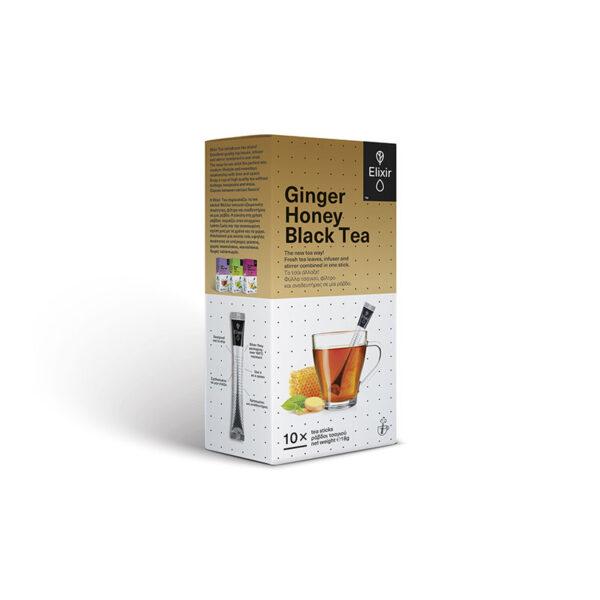 ELIXIR Ginger Honey Black Tea κουτί 10 τεμάχια
