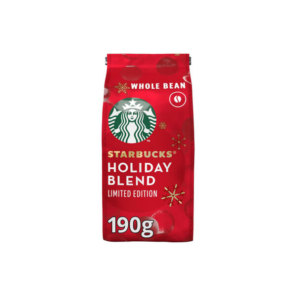 Starbucks Holiday Blend κόκκοι 190g καφές εσπρέσο limited edition