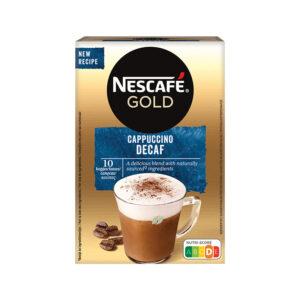 Nescafe Στιγμιαίος Cappuccino Decaf 10 τεμάχια στιγμιαίος ντεκαφεινέ καπουτσίνο