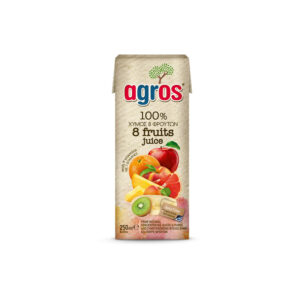 Agros Χυμός 8 Φρούτα 250ml
