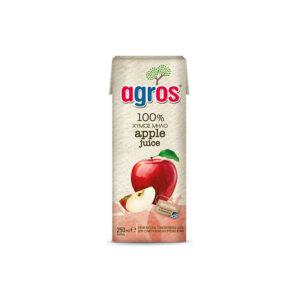 Agros Χυμός Μήλο 250ml