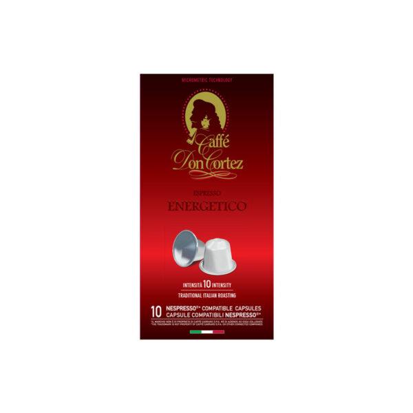 Don Cortez espresso Energetico κάψουλες Nespresso