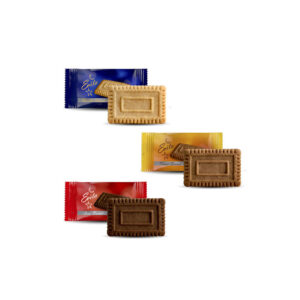Μπισκότα Evita Mix βανίλια, καραμέλα, κακάο 250 τεμάχια