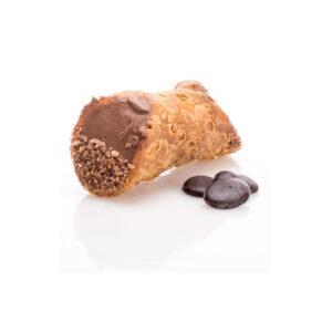 Cannolo Chocolate γλυκό με πάστα σοκολάτας 1 τεμάχιο
