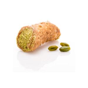 Cannolo Pistacchio 1 τεμάχιο Φιστίκι Αιγίνης γλυκό