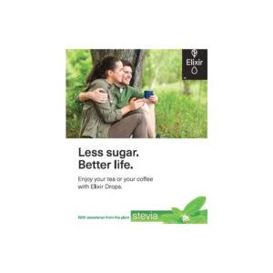 ELIXIR Stevia Drops καλύτερη ζωή