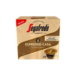 Segafredo Espresso Casa κάψουλες Dolce Gusto