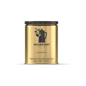 Hausbrandt 100% Arabica αλεσμένος καφές espresso 100% arabica 250g