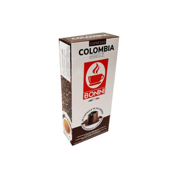 Tiziano Bonini Colombia κάψουλες Nespresso κάψουλες αλουμινίου