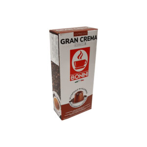 Tiziano Bonini Gran Crema κάψουλες Nespresso αλουμινίου