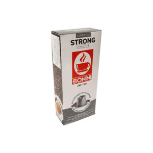 Tiziano Bonini Strong κάψουλες Nespresso αλουμινίου δυνατός