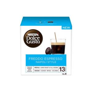 Nescafe Dolce Gusto Freddo Espresso 16 τεμάχια κρύος espresso