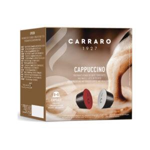 Carraro Cappuccino κάψουλες Dolce Gusto 16 τεμάχια
