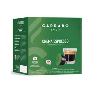 Carraro crema espresso κάψουλες Dolce Gusto 16 κάψουλες
