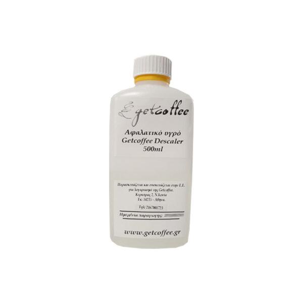 Αφαλατικό υγρό Getcoffee Descaler 500ml για 5 δόσεις