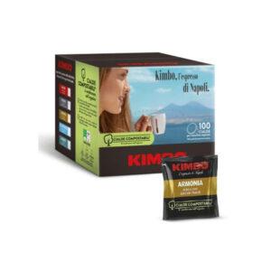 Ταμπλέτες espresso Kimbo Armonia ese pods 100 τεμάχια