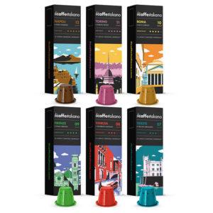 Tasting Kit συμβατές κάψουλες Nespresso 120 τεμάχια