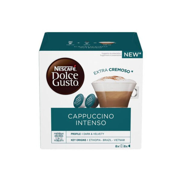 Nescafe Dolce Gusto Cappuccino Intenso 16 κάψουλες