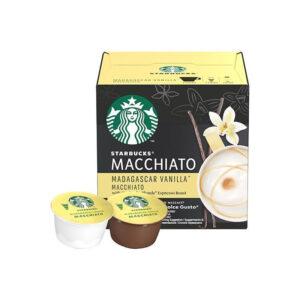Starbucks Madagascar vanilla macchiato κάψουλες Dolce gusto 12 τεμάχια