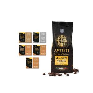 Artisti Magnum Verum Espresso 100% Arabica βραβεία