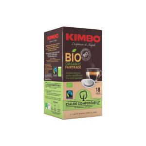 Ταμπλέτες espresso Kimbo Bio ese pods